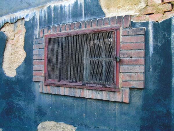 Omítání uvnitř budovy
