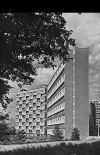 Kolektivní dům v Litvínově, archivní foto