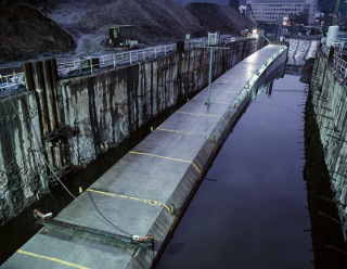 Obr. 5 Unikátní výstavba plavených tunelů metra, Praha, 2001