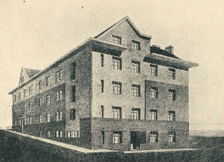 Obytné domy pro státní zaměstnance v Orlové, 1925