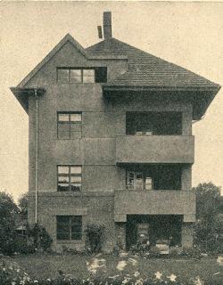 Rodinný dům na Vinohradech, 1924