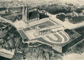 Návrh na krematorium na Vyšehradě