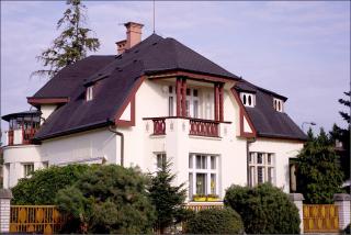Flečkova vila v Hořicích  (Královéhradecký  kraj), současný stav
