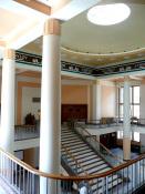 Jiří Kroha, Václav Roštlapil: vestibul Teoretických ústavů Lékařské fakulty v Olomouci z padesátých let 20. století
