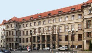 Ústřední městská knihovna na Mariánském náměstí v Praze