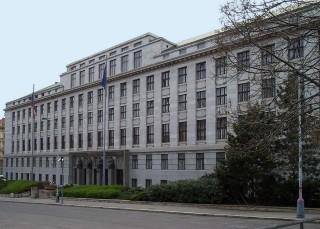 Ministerstvo zemědělství, nábřeží Ludvíka Svobody v Praze