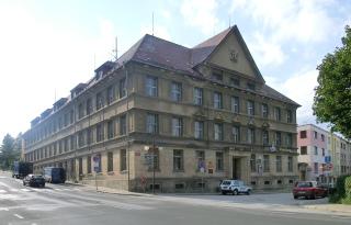 Pošta v Jilemnici, původně okresní soud z let 1923 až 1926