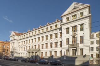 Ředitelství  pošt a telegrafů v Brně