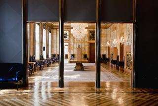 Vstup do velkého recepčního sálu rezidence pražského primátora