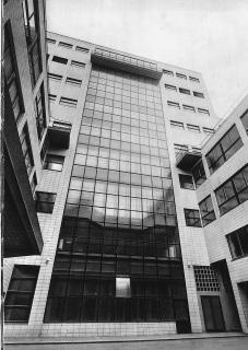 Elektrické podniky hl. města Prahy – fasáda budovy v Bubenči, 1928
