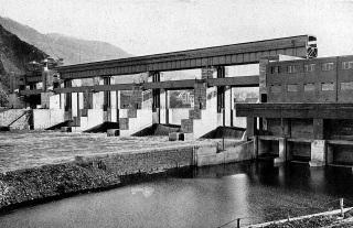 Vrcholné dílo vodního stavitelství a elektrárenství – jez a elektrárna T. G. Masaryka ve Střekově
