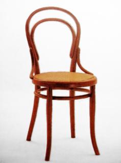 Židle číslo 14 z roku 1859