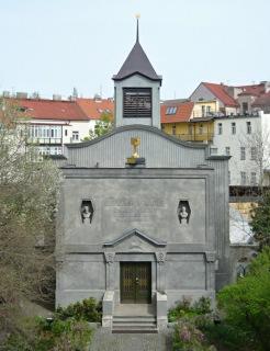 Obr. 15 Betlémská kaple na pražském Žižkově z let 1912–1913 (zdroj: Gampe, 2009, volné dílo)