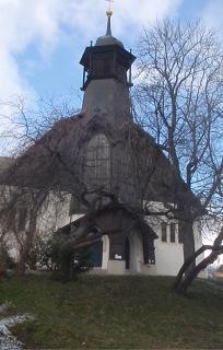Obr. 08 Kostel svatého Vojtěcha v Praze-Libni z let 1904–1905 (foto: Petr Zázvorka, 2021)