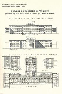 Chirurgický pavilon nemocnice v Berehovu