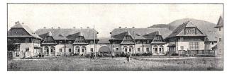 Státní kolonie rodinných domů v Chustu