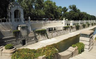 Nábřeží vídeňského kanálu v městském parku z let 1903 až 1906, Vídeň (zdroj: böhringer friedrich, 2008, Wikimedia Commons, CC-BY SA, 2.5)