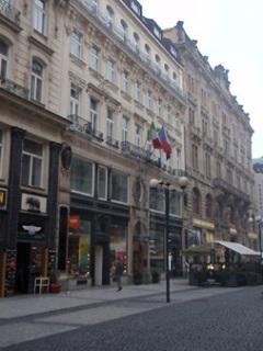 Obchodní a bytový dům v ulici 28. října, Praha, 1894 až 1895 (foto: Petr Zázvorka, 2020)