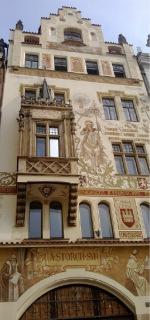 Štorchův dům z let 1896 až 1897, Praha (foto: Petr Zázvorka, 2020)