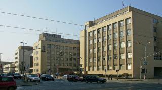 Budova Ministerstva vnitra na pražské Letné, 2007