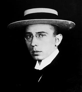 Josef Chochol, portrét od anonymního autora před rokem 1910