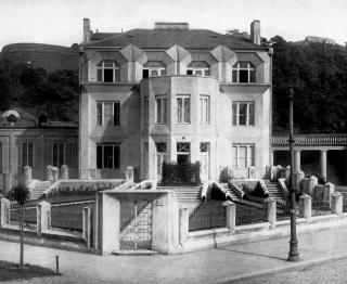 Kovařovicova vila pod Vyšehradem, 1913
