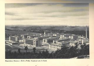 Masarykovy domovy v Krči u Prahy z roku 1928