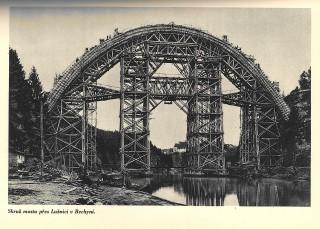 Skruž mostu v Bechyni (1926–1928)