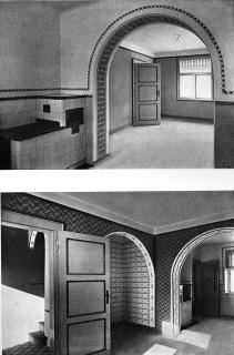 04 Interiéry hornických domků v Duchcově