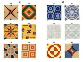 Veselé podlahové dlaždice a obklady ve stylu art deco z Raka Rakovník