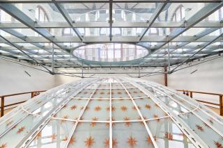 Obr. 08 Nová konstrukce pochozího stropu nad kopulí