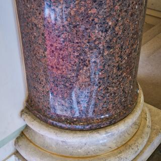 Obr. 05 Detail umělého kamene