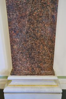 Obr. 06 Detail iluzivního kamene (namalovaný)