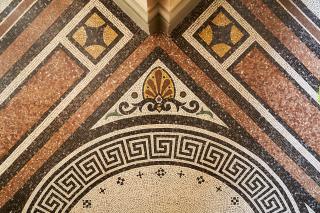 Obr. 11 Detail mozaiky