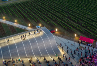 Amfiteátr poskytuje prostor pro společenské akce, jako jsou například vinobraní nebo koncerty (foto: Laurian Ghinitoiu)