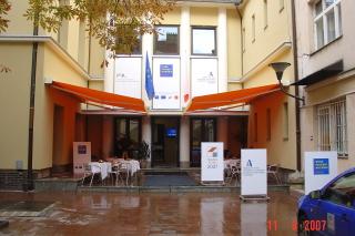 Dům nadace po rekonstrukci na centrum inovací a vzdělávání, 2007