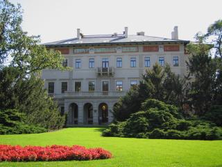 Gröbeho vila na Královských Vinohradech, jejímž spoluautorem je Antonín Barvitius