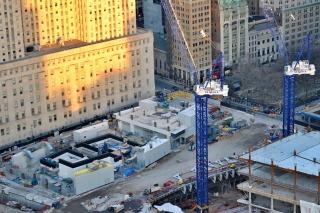 Obr. 08. Zakonzervovaný zárodek věže 2WTC