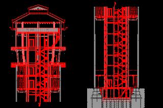 Obr. 11 Řez A–A, navrhovaný stav