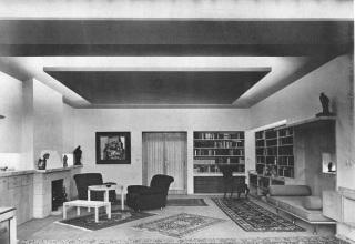 Interiér domu v Praze navržený Jaroslavem Fragnerem, 1937 [1]