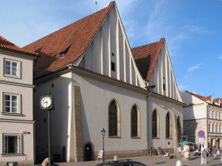 Betlémská  kaple  po  rekonstrukci,  1947–1967  (zdroj:  2006,  Wikimedia  Commons, volné dílo)