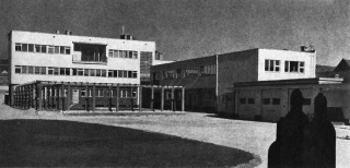 Továrna AGA na výrobu kyslíku a acetylenu v Praze-Vysočanech, 1937