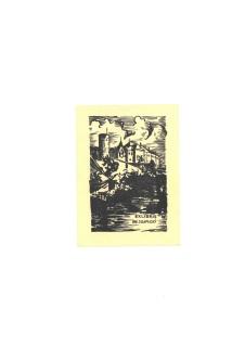 Ex libris F. A. Libry pro ředitele továrny AGA Ing. Josefa Kaplického, 1946