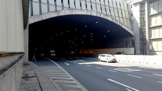Měření za běžného provozu – poloha mikrofonu S.S2 u severního portálu Strahovského tunelu
