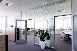 Interiér administrativní budovy