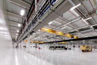 Pohled do výrobní haly