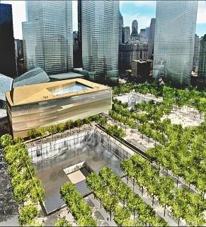 Obr. 03. Vizualizace návrhu muzejní budovy Performing Arts Center (květen 2005)