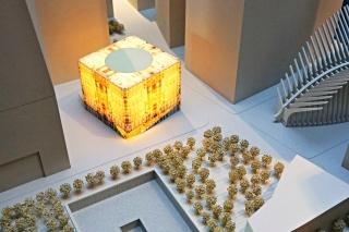 Obr. 06. Model nově navržené budovy WTC Performing Arts Center (září 2016)