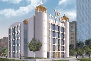 Obr. 07. Soutěžní návrh kostela architektonické kanceláře KRJDA
