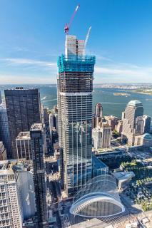 Obr. 14. Rozestavěná věž 3WTC (září 2016)